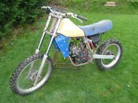 KTM 250 1983 SPARES OR REPAIR OR PARTS