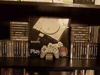 Playstation 1 boxed bundle 39 + boxed games