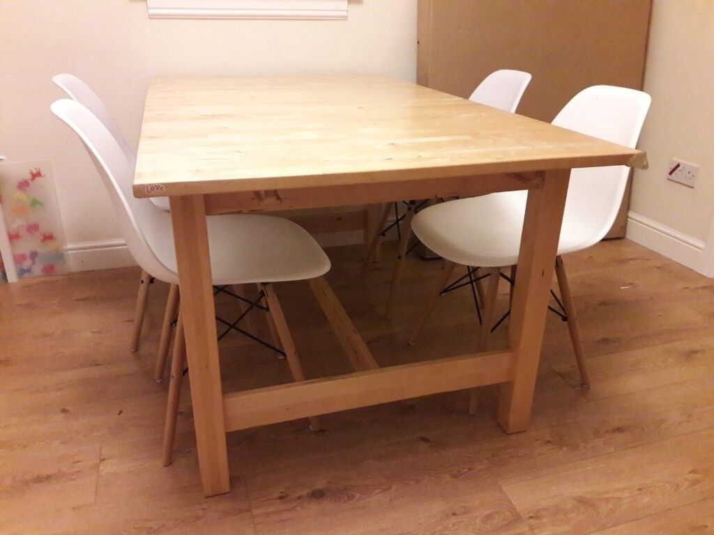 Ikea Norden Extendable Dining Table In Tranent East Lothian