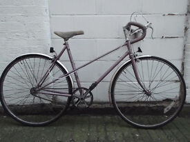 Single Speed RALEIGH vintage bike frame 20inch - Welcome for test ride & cup of tea