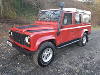 Land Rover Defender 110 Estate SUV CSW 200TDi