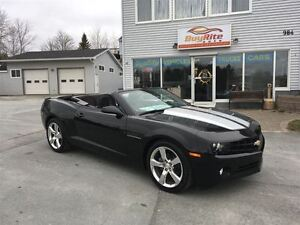 2011 Chevrolet Camaro 1LT Convertible Low Kms.