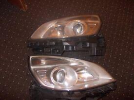 renault scenic headlights