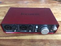 Focusrite Scarlett 212 - audio interface