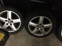 Audi 17inch alloys with excellent tyres
