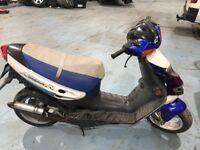 50cc Suzuki Ay 50 scooter moped 12 months mot