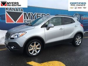 2016 Buick Encore AWD, LEATHER, SUNROOF, NAV!!
