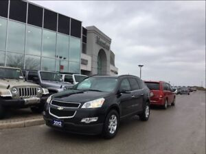 2012 Chevrolet Traverse LT, Hands-Free, Rear Air, ONE OWNER, Cle
