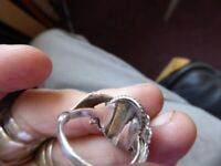 lovely sterling silver ring