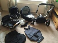 Quinny buzz 3 in 1 travel system with all the extras