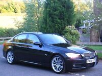 2008 BMW 330d M SPORT AUTO **FSH - FULL MOT - HEATED LEATHER - CRUISE - IMMACULATE**