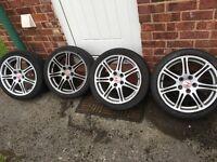 "Honda civic type r alloy wheel 17"""
