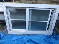 Nearly new pine sash window