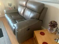 2Seater Leather Power Recliner