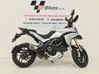 DUCATI MULTISTRADA 1200 ABS | 1 Former Keeper | 18,000 miles | Carbon Term (silver) 2013