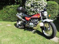 Suzuki VanVan 125cc.