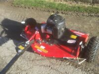 Logic TRM 120 rotary ATV mower As new condition,only cut 6 acres ideal for paddocks