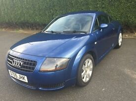 \\\ 05 AUDI TT 1.8 COUPE \\\ EXCELLENT CONDITION \\\ FSH \\\ NOW ONLY £2300