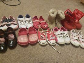 Girls shoe bundle junior 7