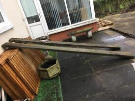 Two 10 foot Scaffolding planks for sale £10