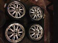 "League LG 190 17"" alloy wheels"