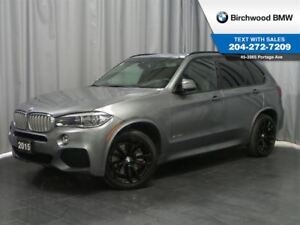 2015 BMW X5 Xdrive50i 3rd Row Seating! 7 Seater! M-Sport! Prem