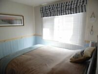 Holiday in Cornwall Devon holiday chalet in Bude 2 beds allows dogs Sept/Oct