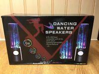 Multicoloured Dancing Water Speakers