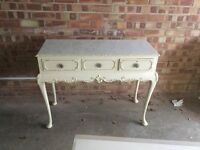 Shabby Chic Dressing Table With Drawers