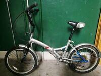 Folding Mountain Bike - Bicylce