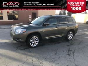 2010 Toyota Highlander Hybrid LIMITED/NAVIGATION/REAR VIEW CAMER