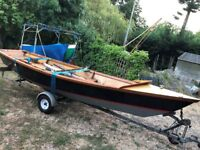 Owl Craft camping sailing dinghy boat