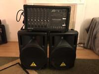 PA System Peavey/behringer (used)