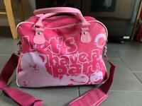 Rainbow Zippy Bungle George Pink Weekend Hold-all Bag