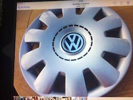 "VW, Volkswagen Golf, Fox, Polo, Beetle, Passat 15"" Wheeltrim, Wheel Trim Hub Cap Cover"