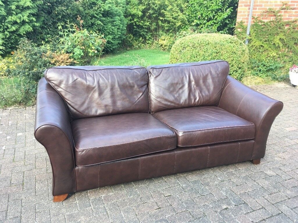Groovy Leather Ms Abbey Large Sofa In Dark Brown 3 4 Person Very Comfortable Sofa In Fab Condition In Harrogate North Yorkshire Gumtree Ncnpc Chair Design For Home Ncnpcorg
