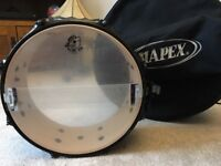Pork pie Little squealer 12 x5 drum with case and stand