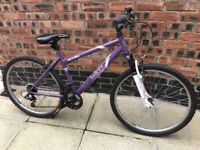 "girls / ladies 26"" apollo bike with shimano gears"