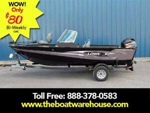 2016 Lowe Boats FM165 Pro WT