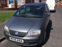 Fiat ideal 1.3 multi jet turbo diesel 2005 facelift model 5 door hatch mot February tax