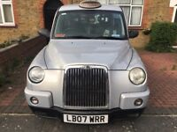 Taxi tx4 new engine silver