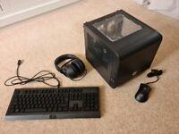Gaming PC - GTX 1080, i3 9100F, Mini ITX Build