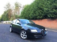 2004 ALFA ROMEO 147 T SPARK LUSSO 5 DOOR HATCHBACK HEATED RED LEATHERS LOW MILEAGE **BARGAIN**