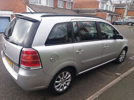 2005 Vauxhall Zafira Perfect Runner Low Millage mint condition