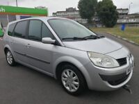 7 SEATER RENAULT GRAND SCENIC AUTOMATIC IN CLEAN CONDITION. 1 YEAR MOT. REAR PRIVACY GLASS. 2 KEYS