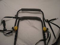 Halfords Twin Bicycle carrier, great used condition