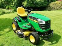 "John Deere X165 Ride On Mower - 48"" Mulch Deck - Lawnmower - Countax/Kubota/Honda"