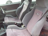 ford escort rs turbo pre 90 spec seats and door cards wanted +++++++++++++++++++++++++++==