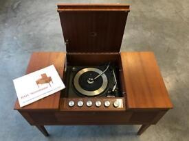 Stunning vintage radiogram record player turntable Garrard retro 60s