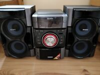 SONY Stereo Genezi MHC-EC79i iPod doc cd radio speakers £40ono